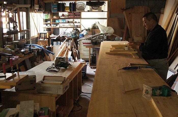Wood quest company 工場